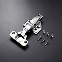304 stainless steel hydraulic buffer damping hinge for cabinet wardrobe door hinge CH-0001