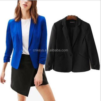 aba2c8d35 K2738a Chinese Clothing Manufacturers Women Jacket Model Ladies Blazer  Designs - Buy Ladies Formal Blazer,Latest Blazer Design,Women Blazer Design  ...