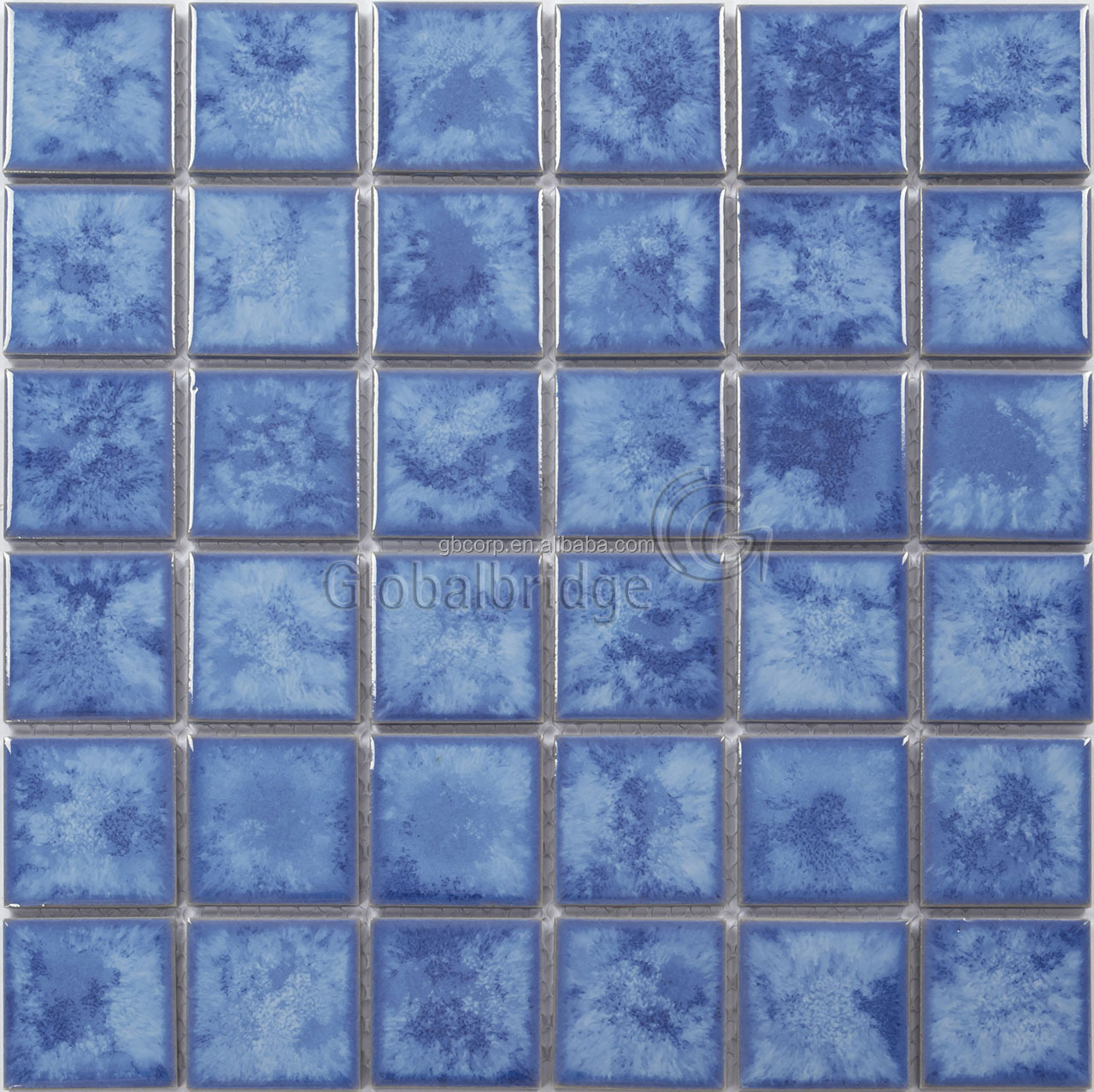 Glazed Blue Ceramic Swimming Pool Tile, Glazed Blue Ceramic Swimming ...