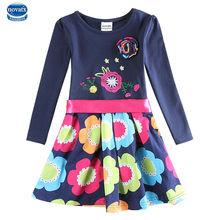girl summer dress for girls dress 2015  nova kids brand 100% cotton girl party princess dress
