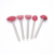 5Pcs Stainless Steel Handle Red Kitchen Cooking Silicone Utensil Set