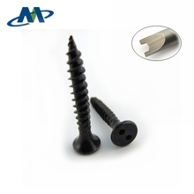 Black Oxide Self Tapping Screw Snake Eye Hole Drive Security Screw