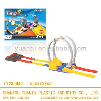 New plastic rail car toy track car funny exciting playing sense child toy car