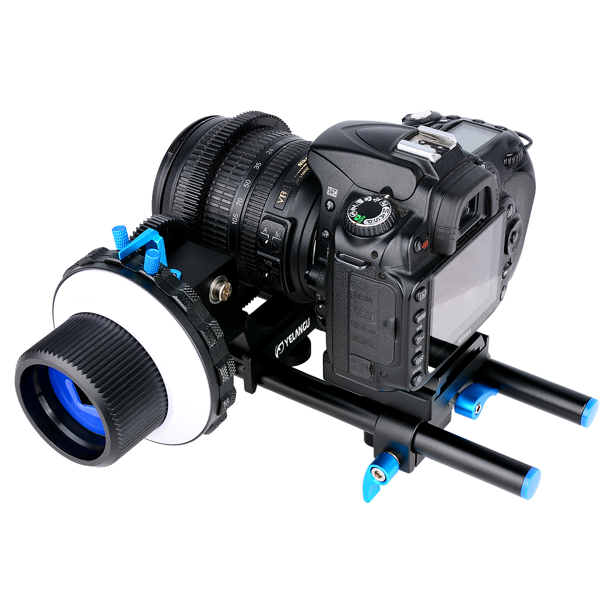 Dslr Rig Shoulder Mount matte Box Camera DSLR Follow Focus