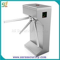 Automatic Vertical Single Core Tripod Turnstile Compact Tripod Gates