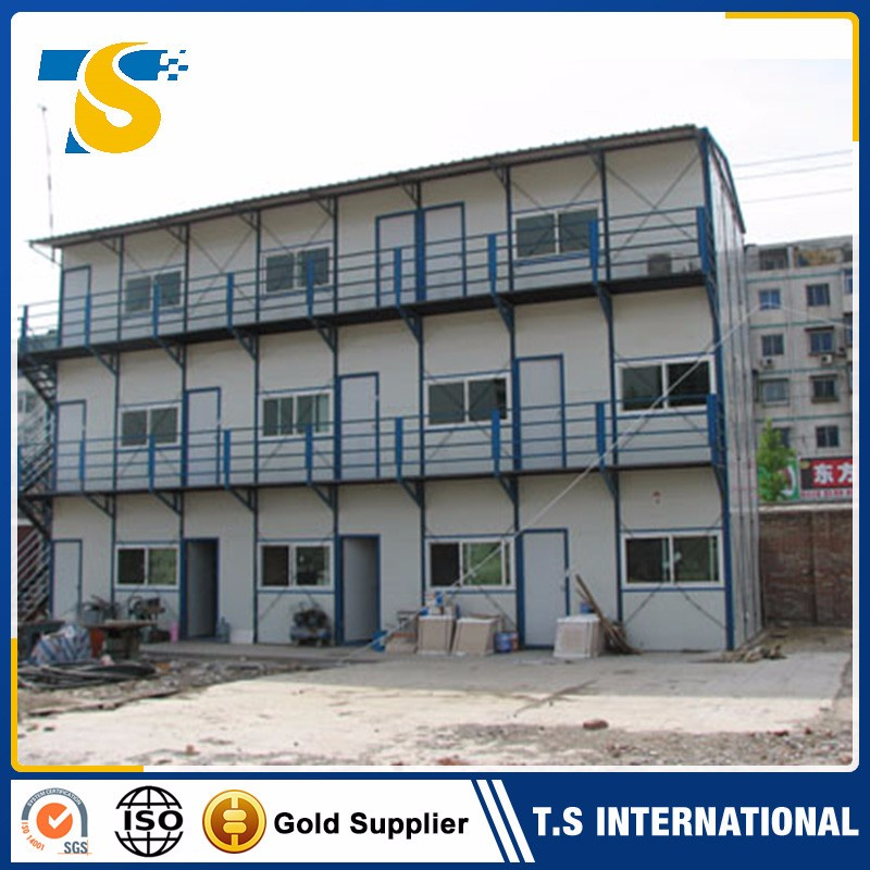 ISO, CE cCertificated China Supplier sandwich panel material villa house hotel use prefab houses