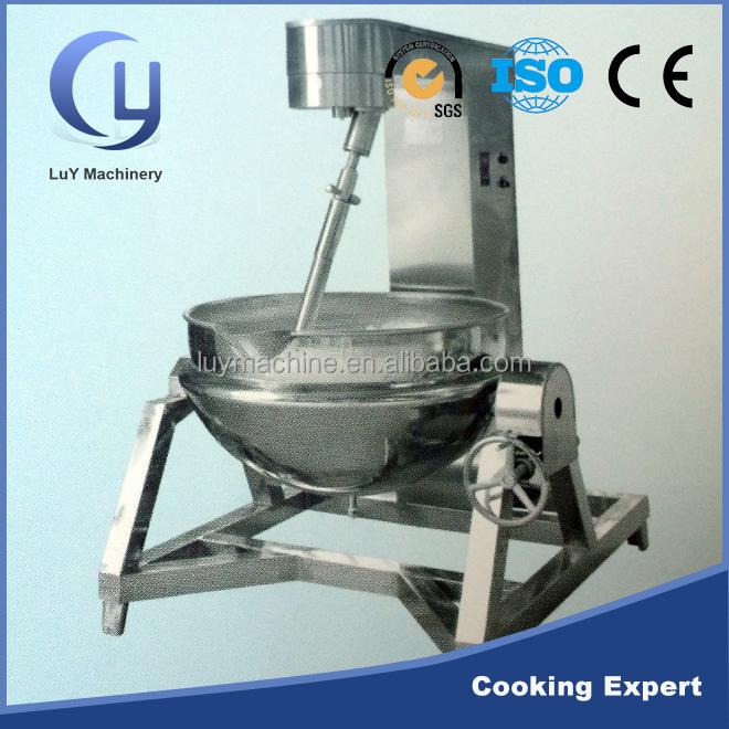 Precio de f brica 200 litros de vapor de acero inoxidable for Maquina que cocina