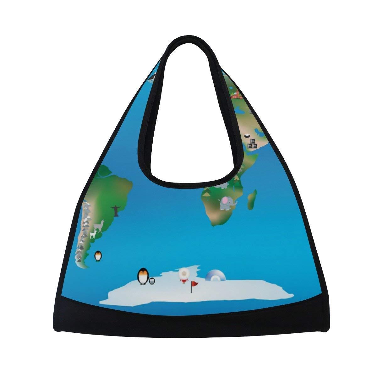 Evolutions Floral Animal Owl Travel Duffel Bag Sports Gym Bag For Men /& Women