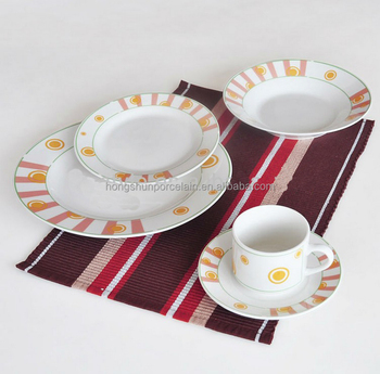 Dinner Set Ceramic Plate With