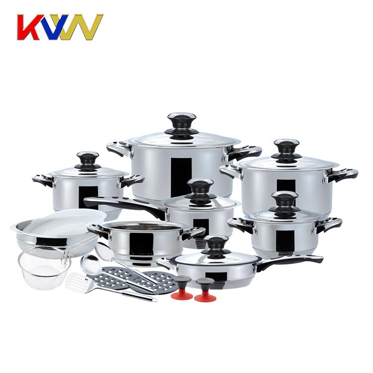 Elegant 23pcs Stainless Steel Cooking Utensils Kitchen Set Buy