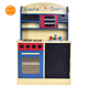 Wood Kitchen Toy Kids Cooking Pretend Play Set Toddler Play set Gift Pretend Play Kitchen for kit tools educational toy