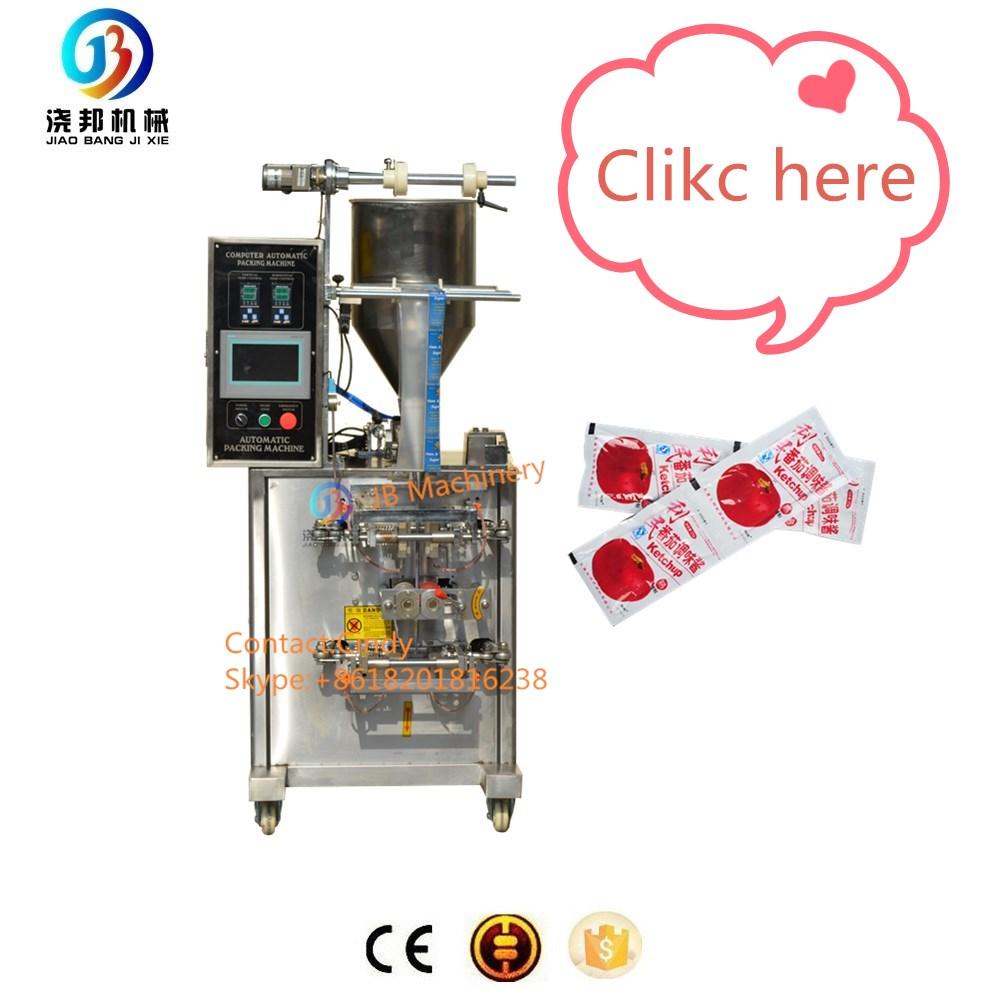 JB-300J Automatische flüssige Tomatensauce Beutelverpackungsmaschine Preis, Mayonnaise Beutelfüllung und Verpackungsmaschine