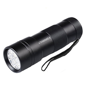 CYSHMILY Morpilot UV 12 LED Ultraviolet Blacklight Urine Detector Torch The Best To Find Stains on Carpet 12 UV LED Flashlight