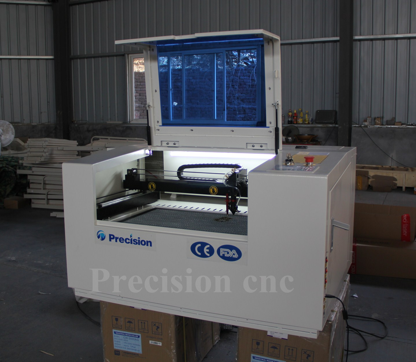 Co2 cnc laser lazer cutting machine price/table top laser cutter