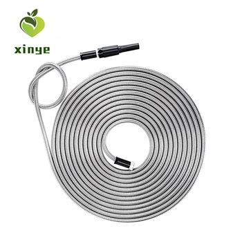 High Pressure Flexible 304 Stainless Steel Metal Garden Hose