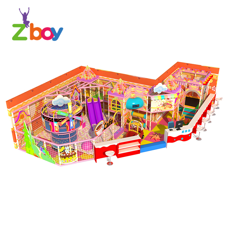 פופולרי לשחק ציוד קטן מקורה רך ילדי גן משחקים