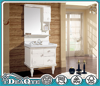 Beau Chinese Modern Antique Makeup Laundry Cabinets Newest MDF Chipboard Plwood  Storage Cabinet PVC Wash Bathroom Vanity