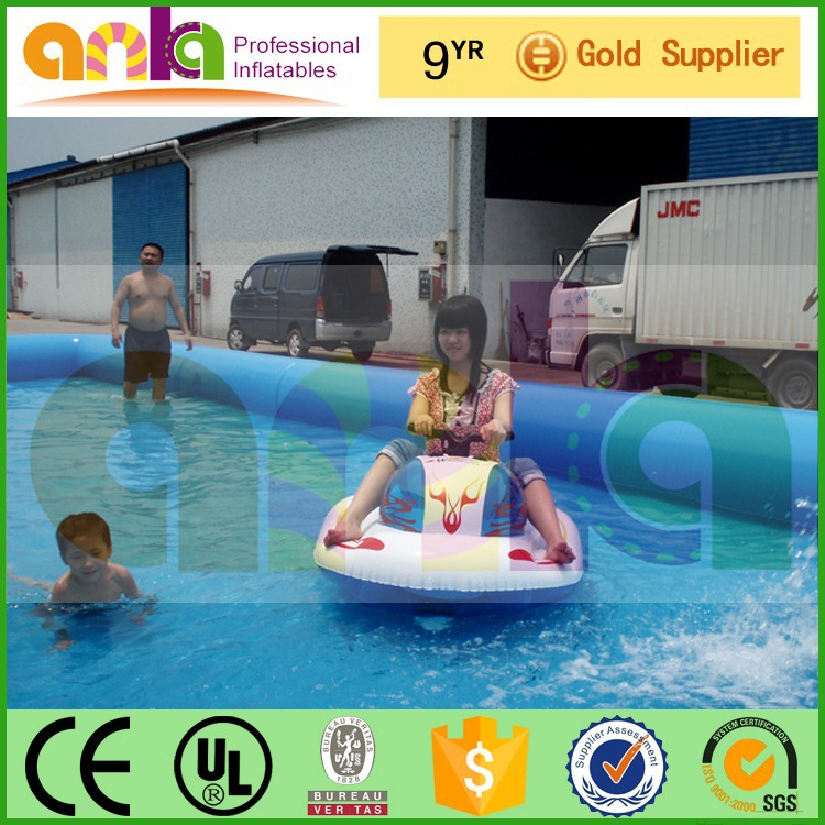 specialized in inflatable above ground swimming pool with 12 moths guarantee