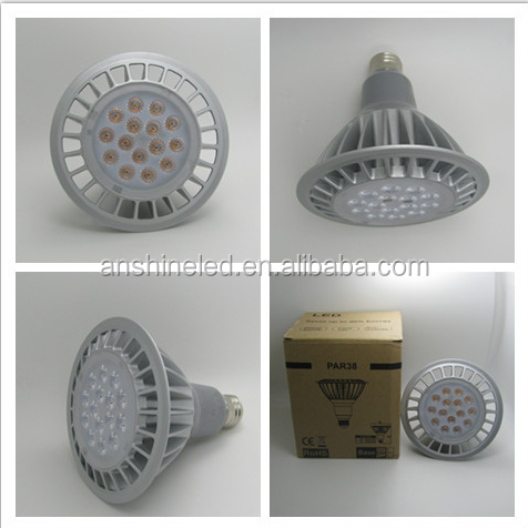 new products patented 2016 Dimmable led par lights E27 led par38 led ceiling spot lights