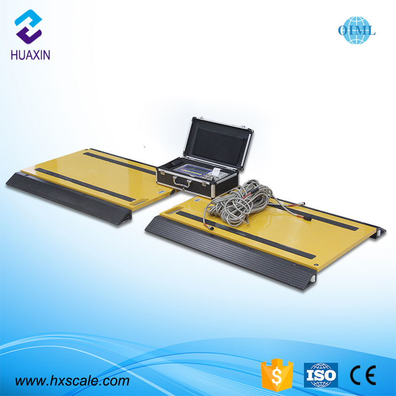 Portable truck axle cars weighing pads scale for sale