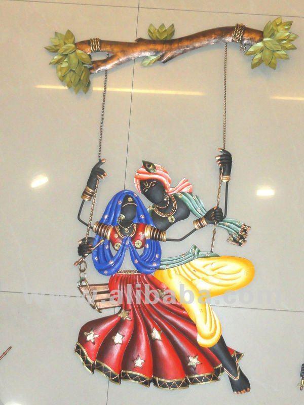 Radha Krishna Wall Hanging Buy Wall Hangings Product On Alibaba Com