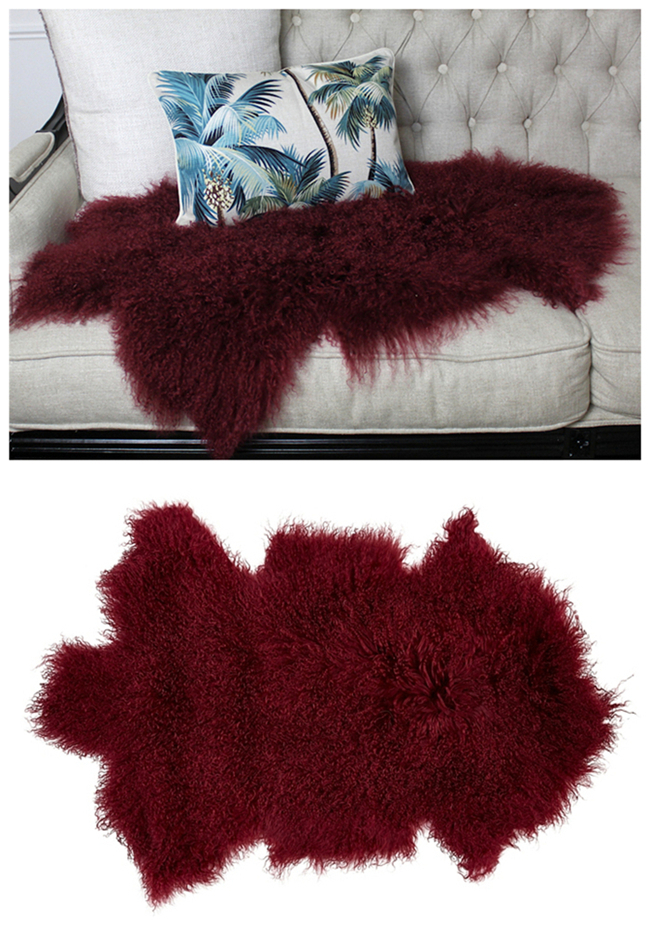 60 120cm Sheepskin Fur Area Floor Runner Rug Buy Runner