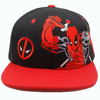 Wholesale High Quality Black Flat Brim Embroidered Snapback Hat