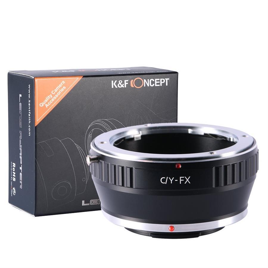 Concepto K/&F Montaje De La Lente Adaptador Contax//Yashica C//y a Fujifilm X Monte KF06.105