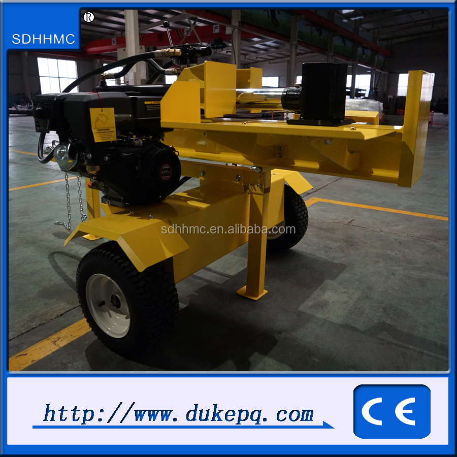 Toq Quality 50Ton Hydraulic Diesel Engine Driven Log Splitter For Tractor 2 way Log Splitter Wedge