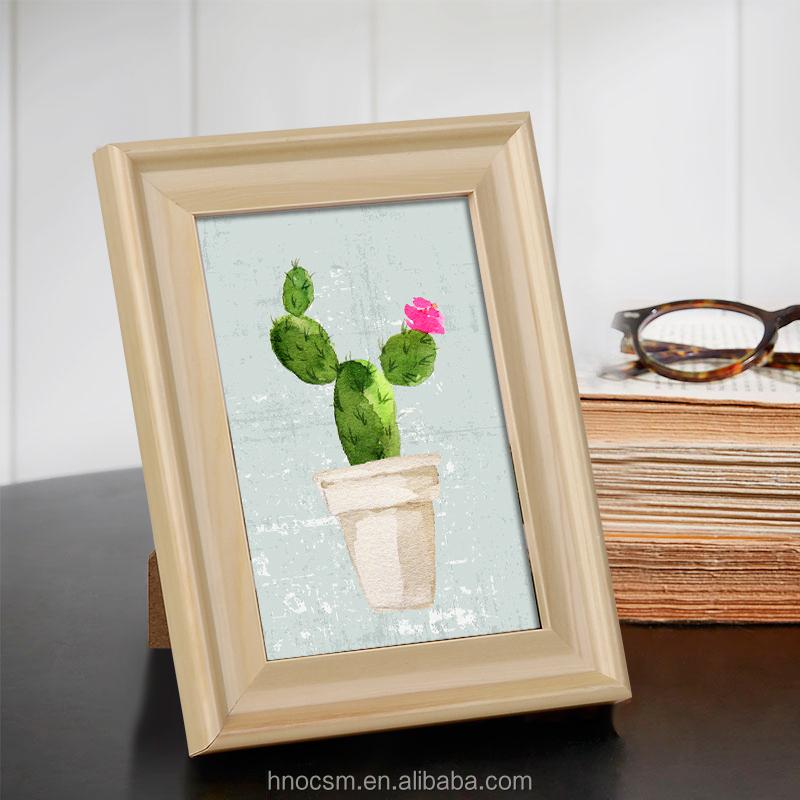 16c1cc593 بسيطة الصور خشبية إطار الصورة للأسرة ، نوم المكتبي مستطيلة إطار الصورة ،  البوم أفضل هدية
