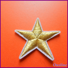 3D Applique Embroidered Star Patches