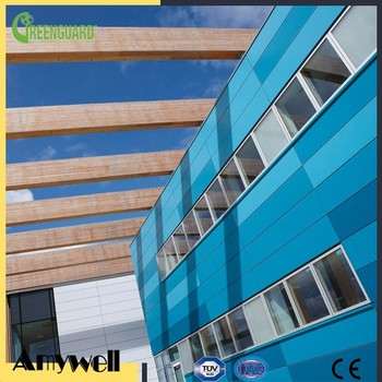 Amywell Wholesale 100% Phenolic Resin FunderMax Anti Uv 6mm Hpl Exterior  Wall Siding