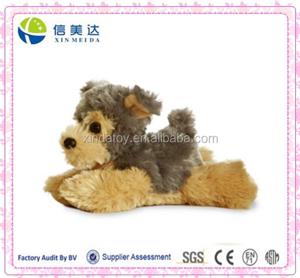 Plush Baby Soft Yorkie Stufeed Dog Toy