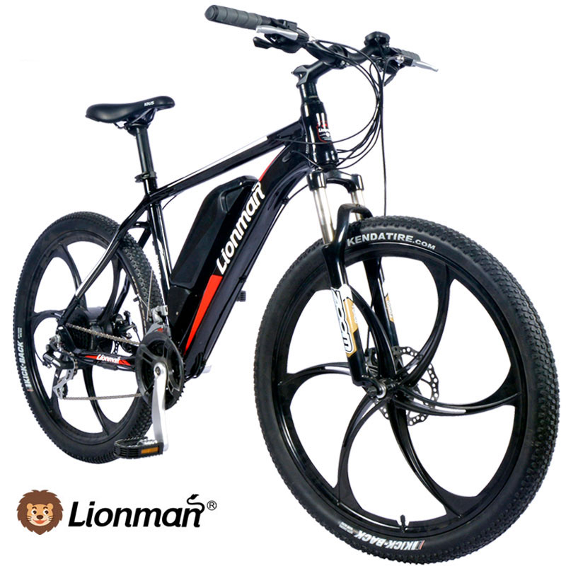 Lionman fat tyre mountain electric bicycle china 2017 2018 e bike