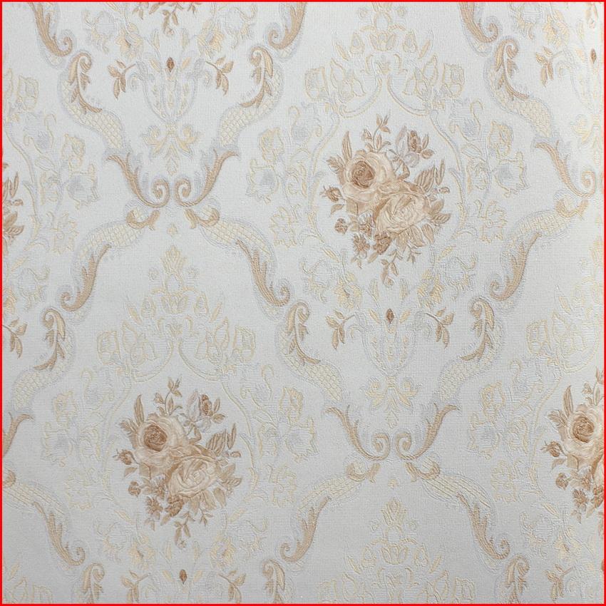 Classic Wallpaper Elegant Floral Popular Italian Style Vinyl Wall Paper