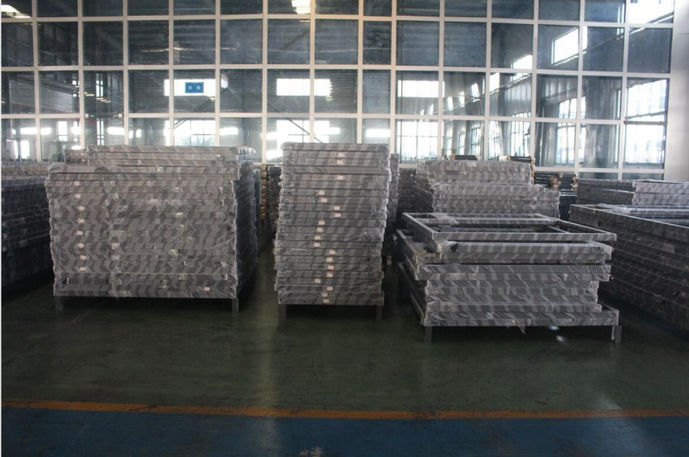 Aluminum alloy windows and doors with optional surface treatment