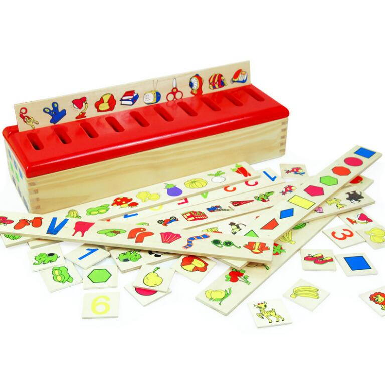 New style wooden toys help children montessori teaching aids