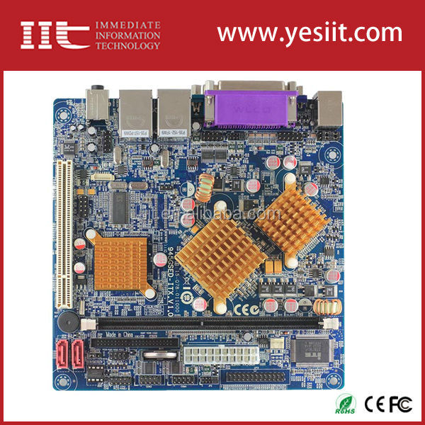 Mini-itx Motherboard for Intel 945GM IMI945GM-N270 same 945GSED-ITX
