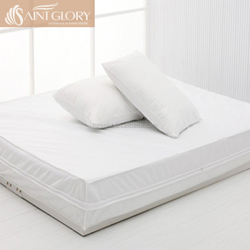 Bed Bug Mattress Cover.Hotel Wholesale Hypoallergenic Waterproof Mattress Protector Bed Bug Zippered Mattress Cover Encasement Buy Mattress Encasement Bed Bug Mattress
