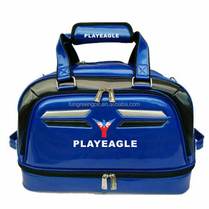 Playeagle golf travel bag waterproof golf bag with golf shoes bag