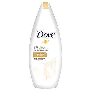 Dove Silk Glow Nourishing Body Wash 250ml (PACK OF 6)