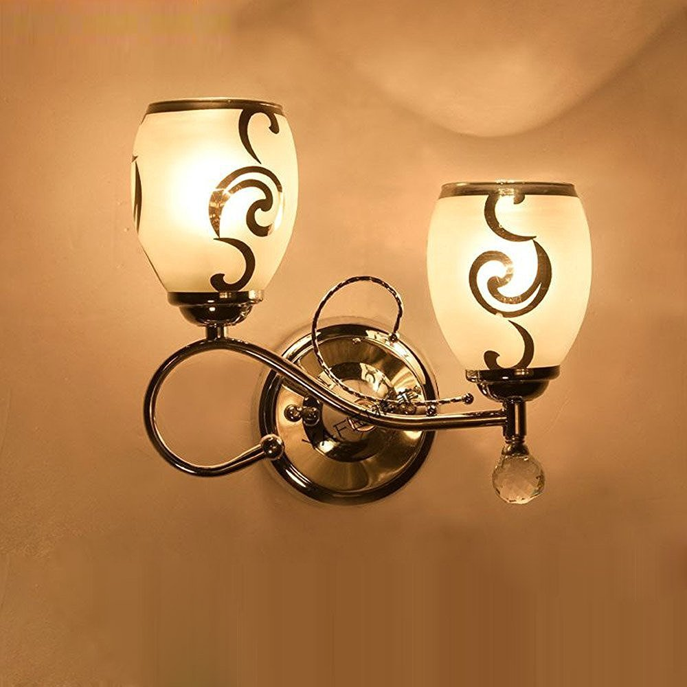 Wecus WS1024 Modern Chinese Style Sconces Wall Lighting Wood Vintage LED Houselet Wall Light Lamp Up Fixtures Mounting Bracket Decoration For Bedroom Kitchen Stairway Hallway