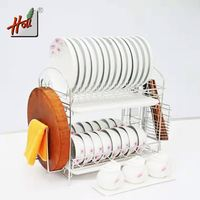Stock Drainer Storage Kitchen Sink Dish Rack