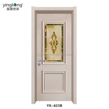 Jiuyixing Waterproof Latest Pvc Bathroom Door Design With Factory