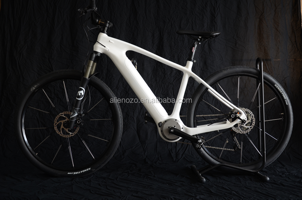 Carbon fork ebike CE/EN15194 road electric carbon fiber bike