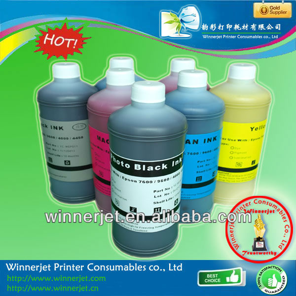 2013 china Sublimation ink for Epson 7600 9600