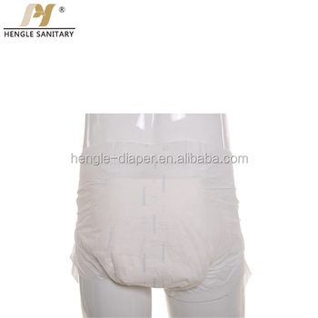 Free sample disposable adult diaper pants for adult diapers factory / export manufacturer
