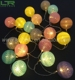 20LED DC5V USB Cotton Ball String Lights For Holiday Decoration
