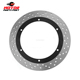 Custom stainless steel front brake disc rotor for yamaha