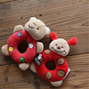 High Quality factory wholesale price best soft bear baby rattle toys